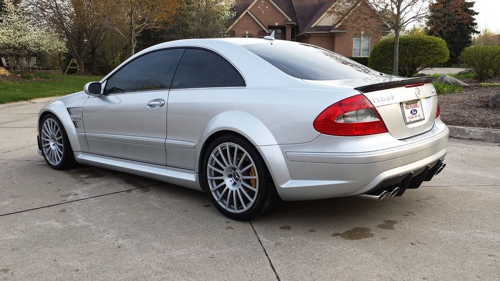 2008 mercedes benz w209 clk 63 amg black series benztuning. Black Bedroom Furniture Sets. Home Design Ideas