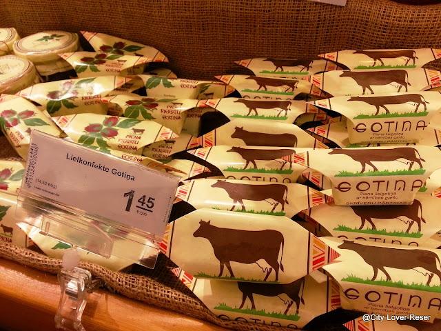shopping i Riga - godis