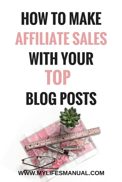 Affiliate marketing for new bloggers.