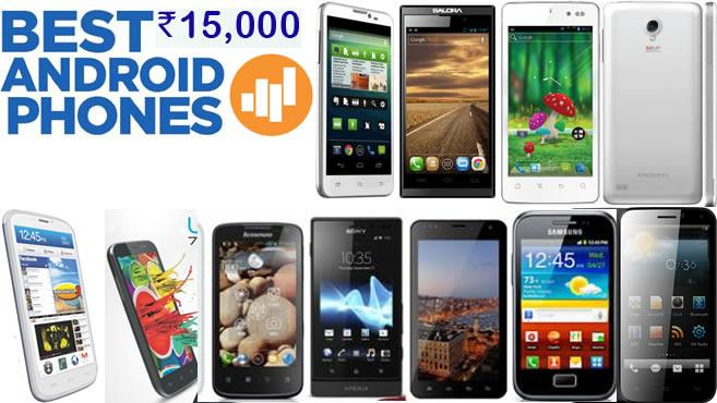 Top 5 Best selling Android Smart Phones below 15,000 (2014)