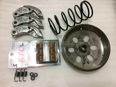 Cara Mengatasi Getar CVT Honda Vario 125, Pakai Paket CVT Dari RL Matic Shop