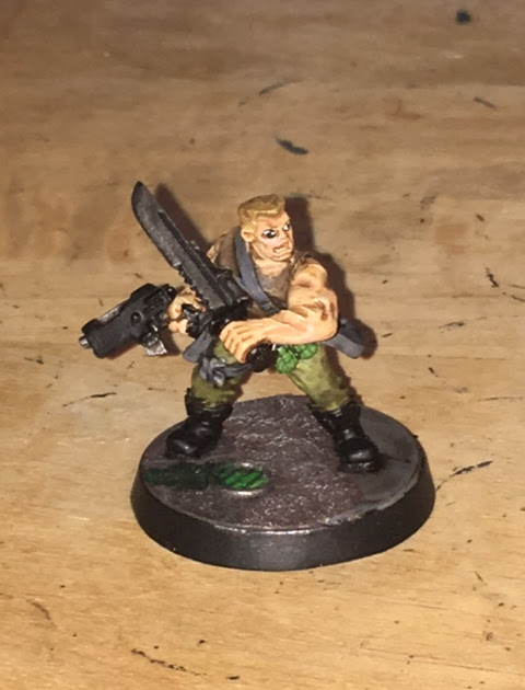 Sly Marbo - one man army