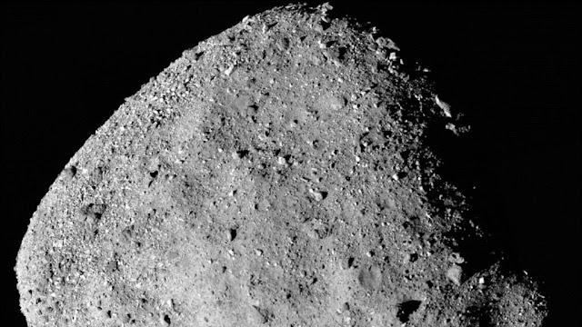 Sonda de la NASA halla señales de agua en asteroide