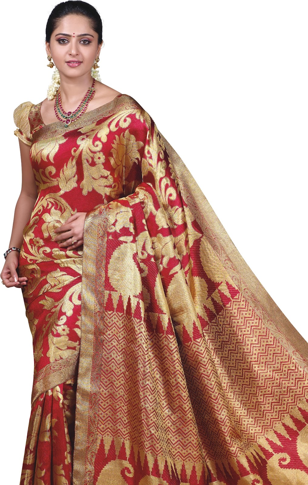 Satin silk saree muslim aunty 1