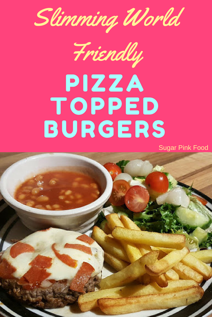 Pizza Topped Burgers Recipe