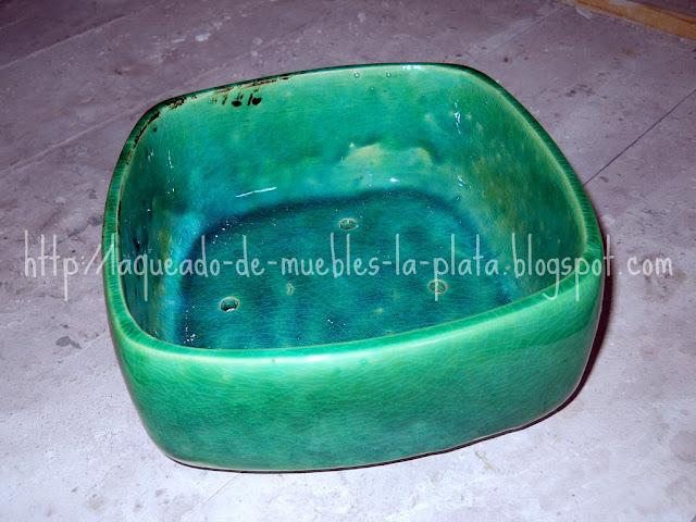 Maceta para bonsai mediana de cerámica