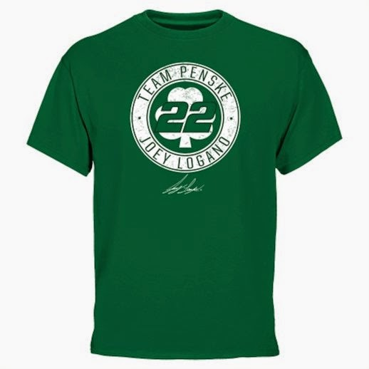 joey logano st. patricks day t-shirt, joey logano 3x 4x 5x t-shirts, joey logano big and tall t-shirt