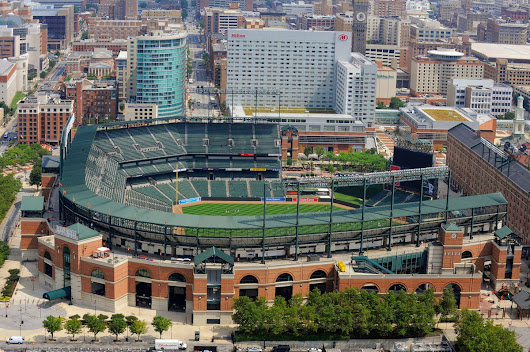 A Chronological Guide to Major Leauge ballparks I have been to...