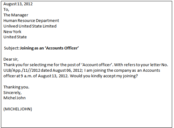 Employee Appointment Letter In Word Format - gulf employment ...