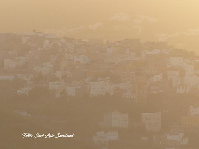 Fotos calima Gran Canaria, 17 noviembre