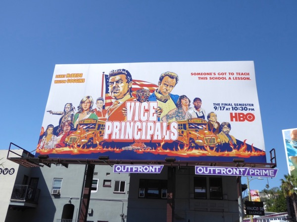 Vice Principals Final Semester billboard