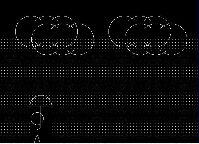 man-walking-in-rain-in-c-pragramming-graphics