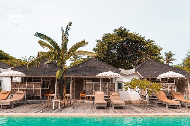 Islas Gili Hoteles baratos gili meno