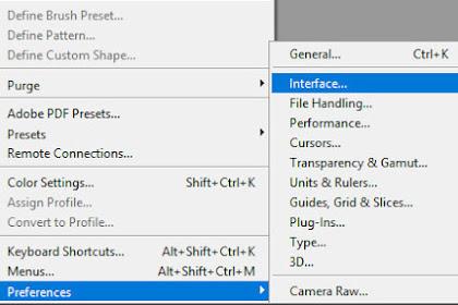 Cara Merubah Tampilan Adobe Photoshop