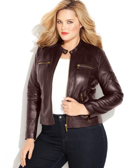 harga jaket kulit wanita ukuran jumbo