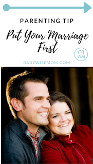 How putting your marriage first makes you a better parent and leaves your children happier.