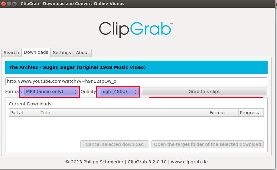 ClipGrab: Baixe vídeos do Youtube no Ubuntu e no Linux Mint