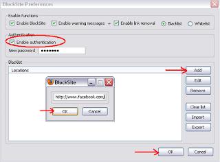 BlockSite Preferences - Blacklist Websites for Safe Secure Browsing