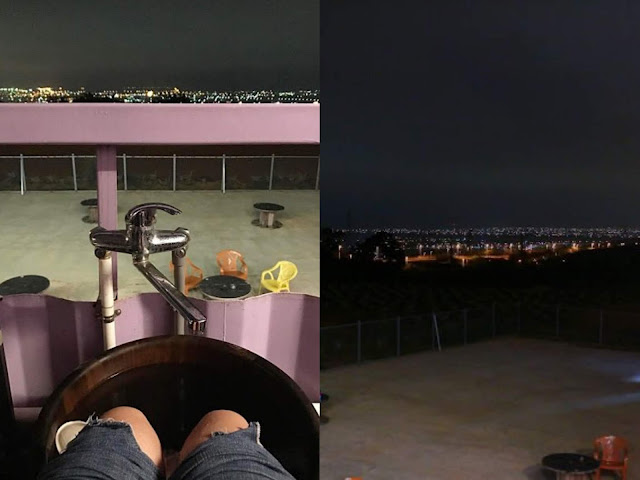 Collage Fotor - 2018海線夜景餐廳│10間台中夜景咖啡廳懶人包