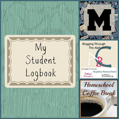 My Student Logbook (Blogging Through the Alphabet) on Homeschool Coffee Break @ kympossibleblog.blogspot.com