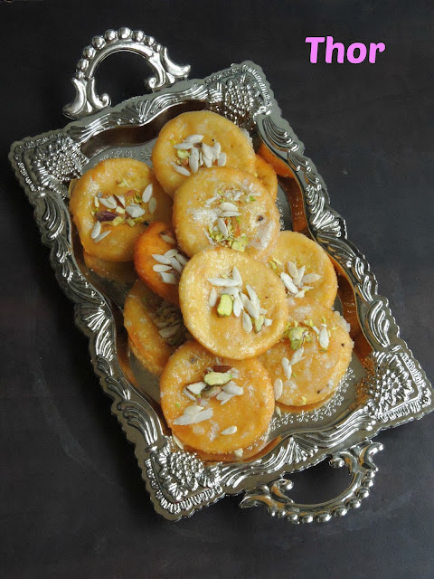 Meetha Saata, Thor, Deep fried Sweet Pastries