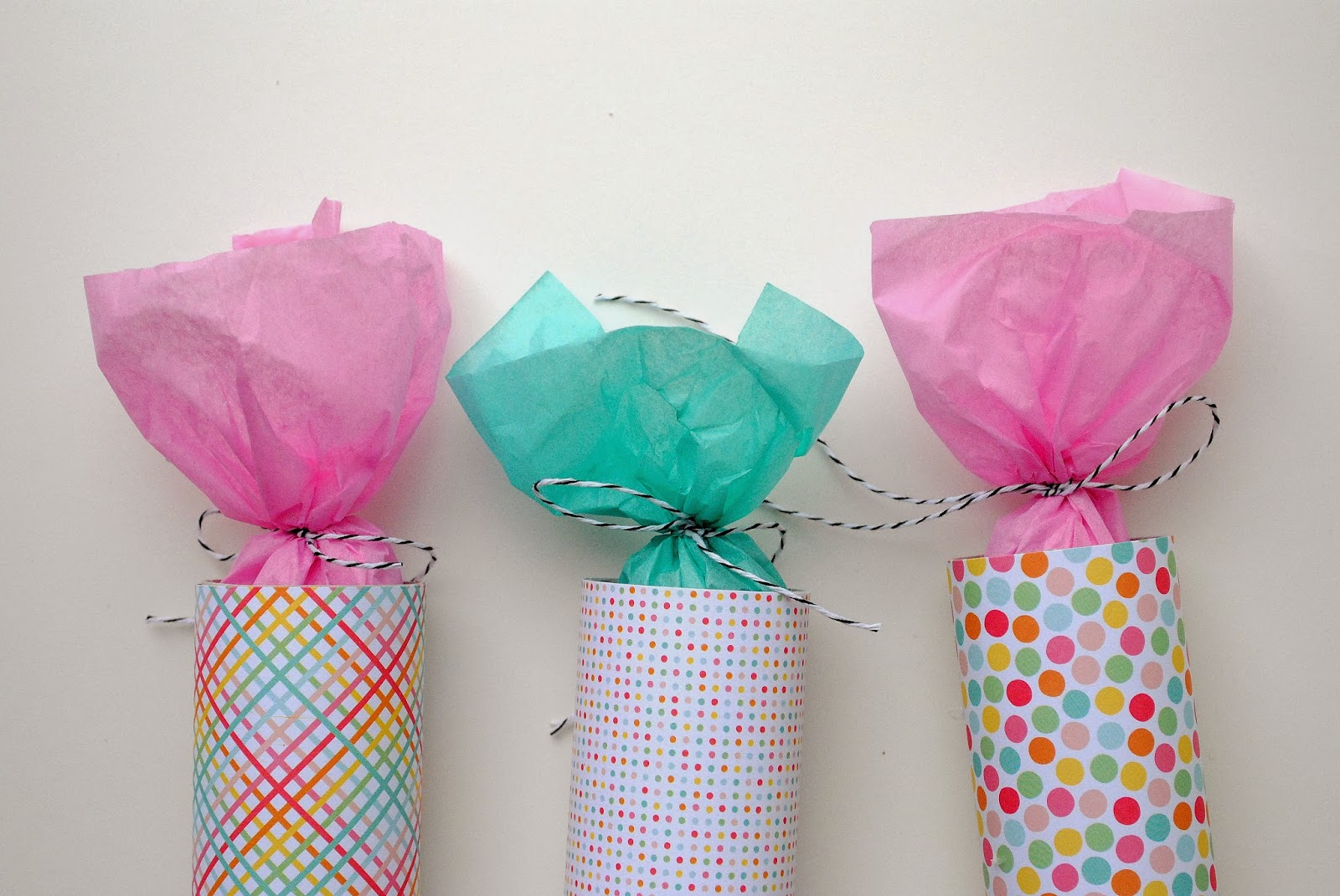 Diy Colorful Party Poppers