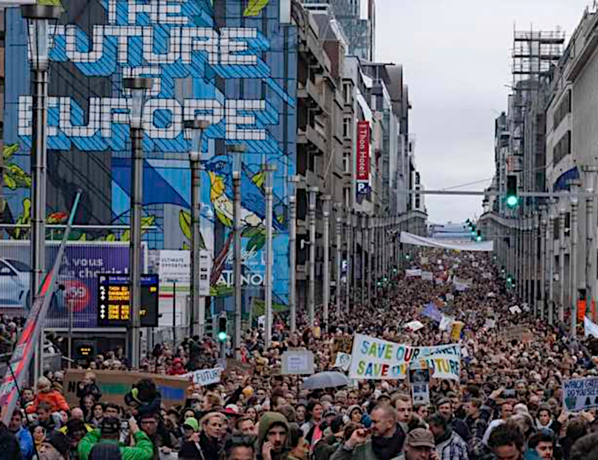 brussels protest