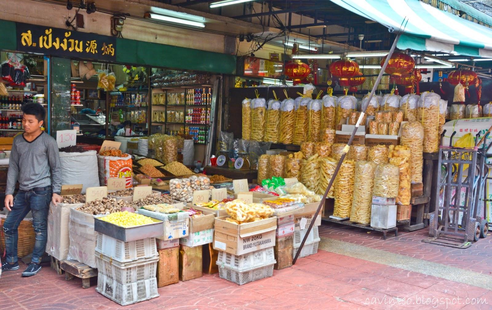 Sampeng Lane Wholesale Market @ Bangkok Chinatown ...