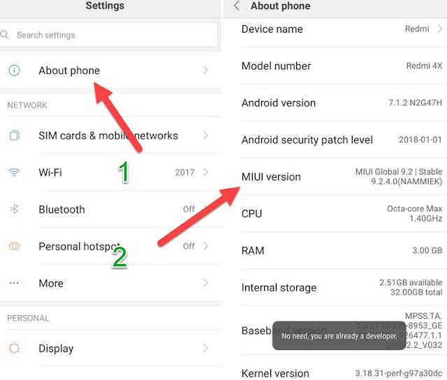 Cara Update Xiaomi Redmi Note 3 Pro untuk MIUI 10,Ini Caranya 2