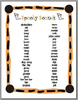 Teaching with TLC: Creating Spooky Stories with Onomatopoeia