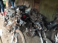 Tim SAR Temukan 4 Sepeda Motor Korban Tanah Longsor Ponorogo