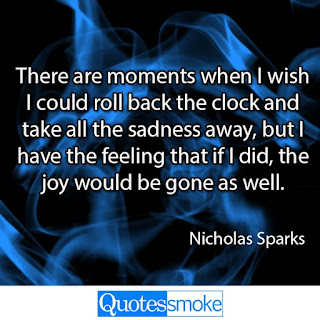 Nicholas Sparks Sad Quote