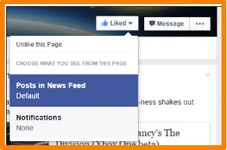 facebook news feed application