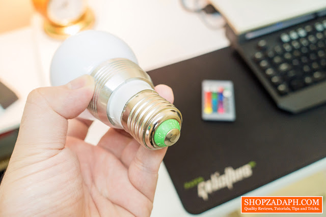 rgb led lights review - rgb bulb e27 socket