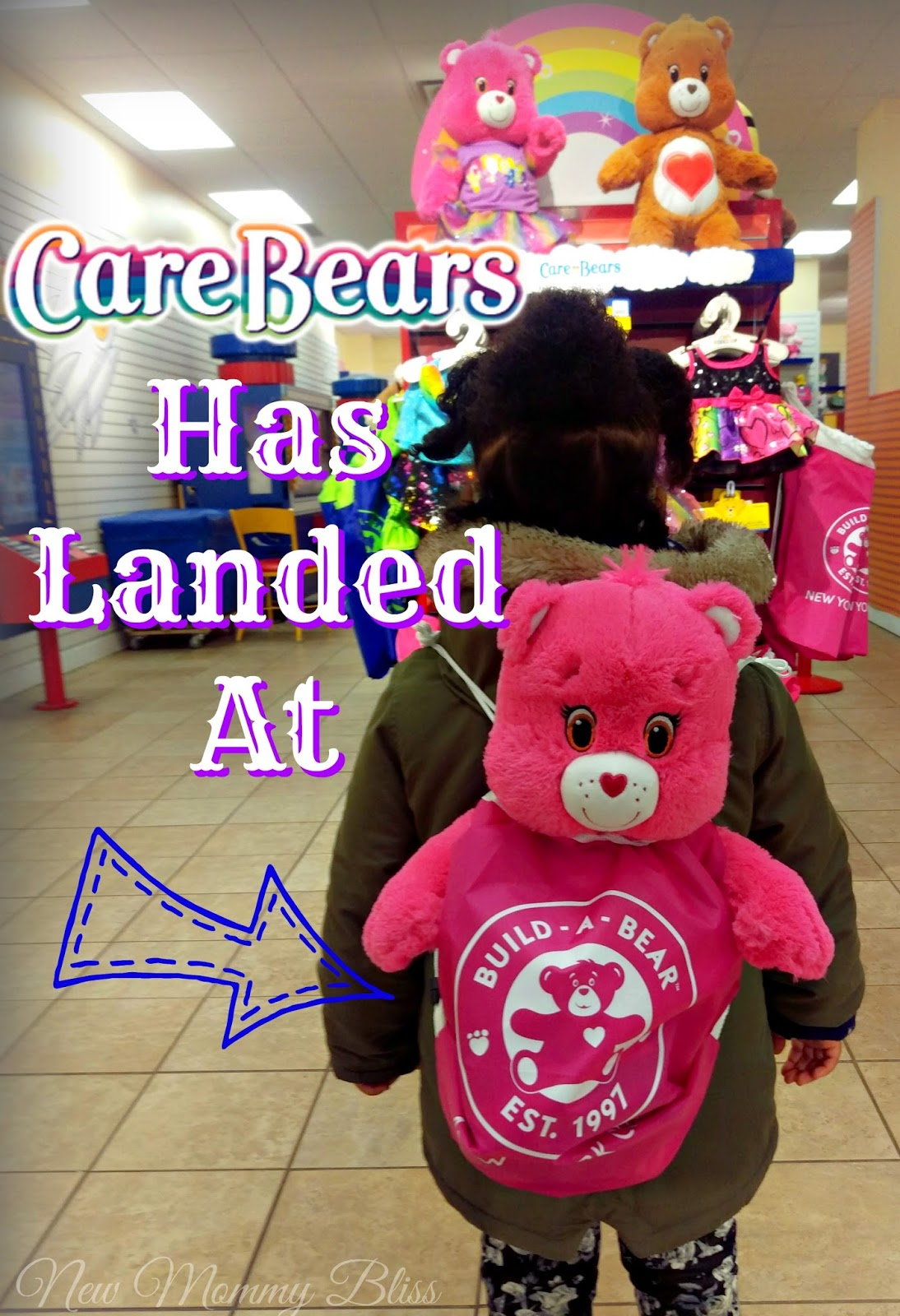 Care Bears Are At Build A Bear!