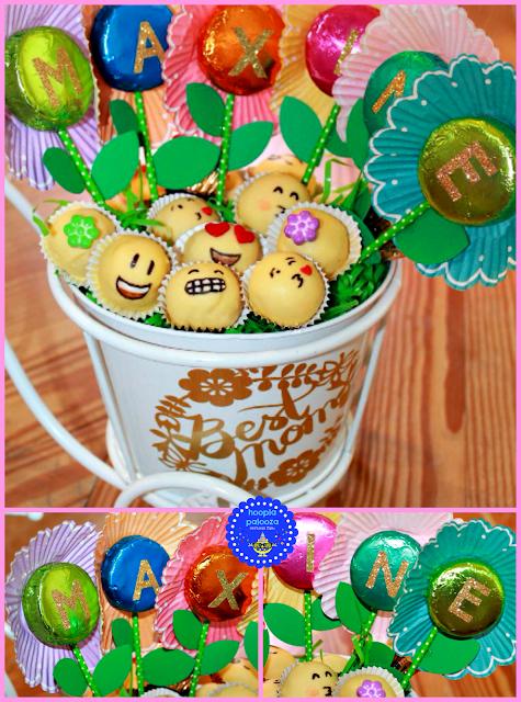 hoopla palooza a mothers day bicycle flower emoji treat
