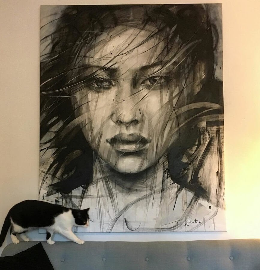 02-Large-Format-Oil-Paintings-and-Charcoal-Drawings-www-designstack-co