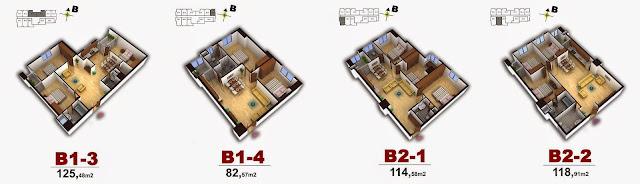 Mặt bằng thiết kế chung cư số 4 Chính Kinh