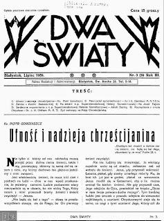 Журнал «Dwa Światy»