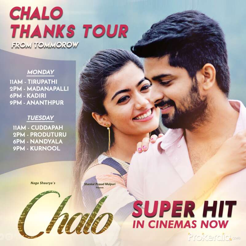 Chalo (2018) Hindi Dubbed 720p HDRip 550MB