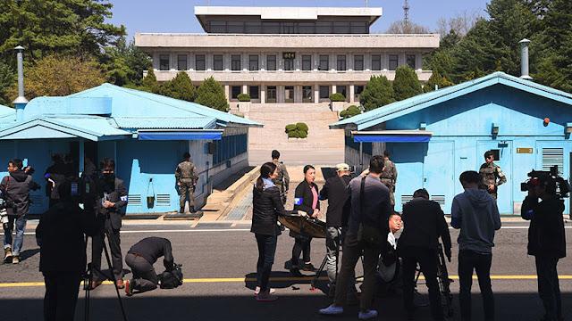 Corea del Sur suspende la difusión propagandística en su frontera con Corea del Norte