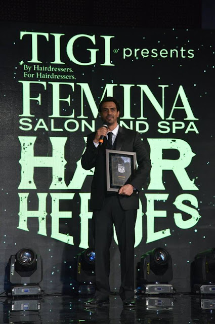 Femina Salon & Spa Hair Heroes 'Style Icon Winner' - Actor Arjun Rampal