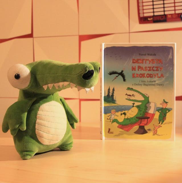 książka, okładka, krokodyl, forfiter