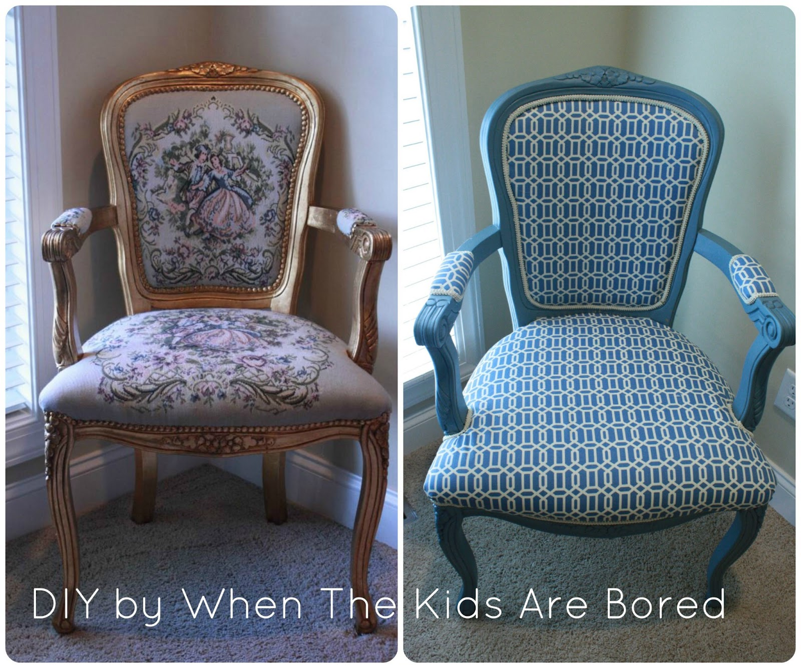 Queen Anne Style Chair Small Table And Chairs For Kitchen When The Kids Are Bored Re Do