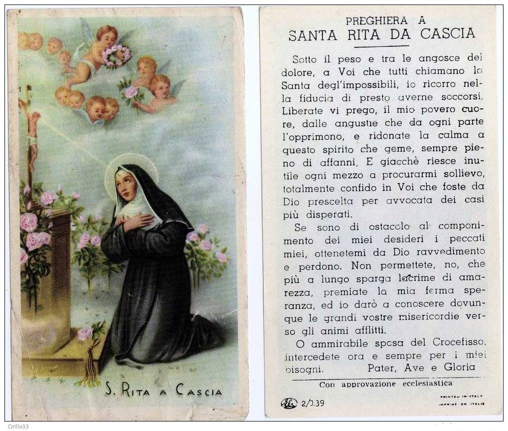 Santa Rita | Ora Pro Nobis | Catholic saints, Catholic ...