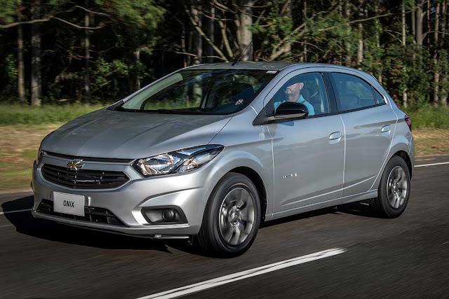 5 veículos automáticos até R$ 57 mil