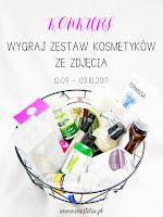 Konkurs, wygraj zestaw kosmetyków, Enestelia.pl banner