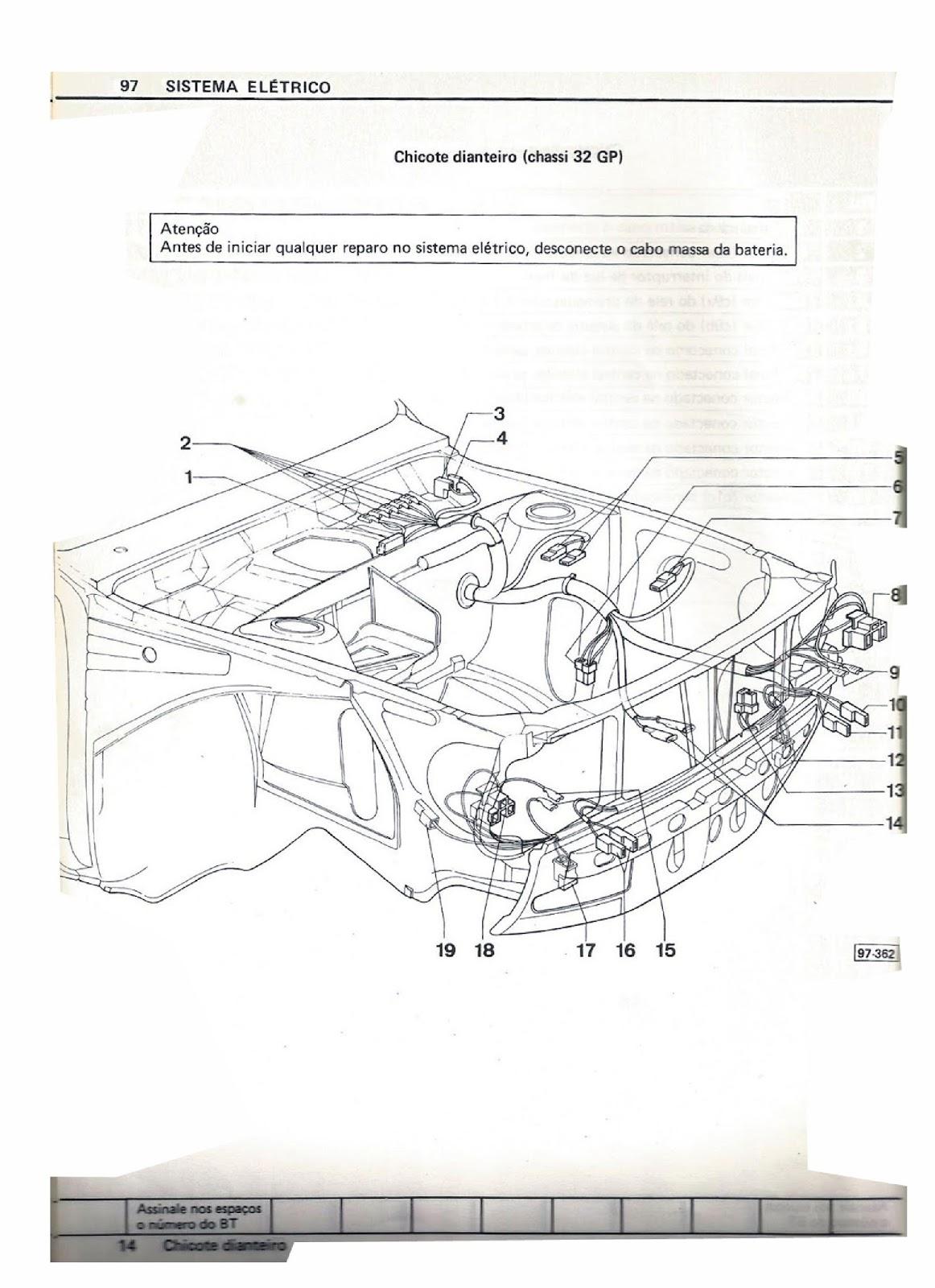 OFICINA VW : MANUAL DE REPARAÇÕES ELÉTRICAS DO PASSAT 86
