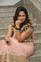Shilpa Chakravarthy in Lovely Designer Pink Saree with Cat Print Pallu 053.JPG