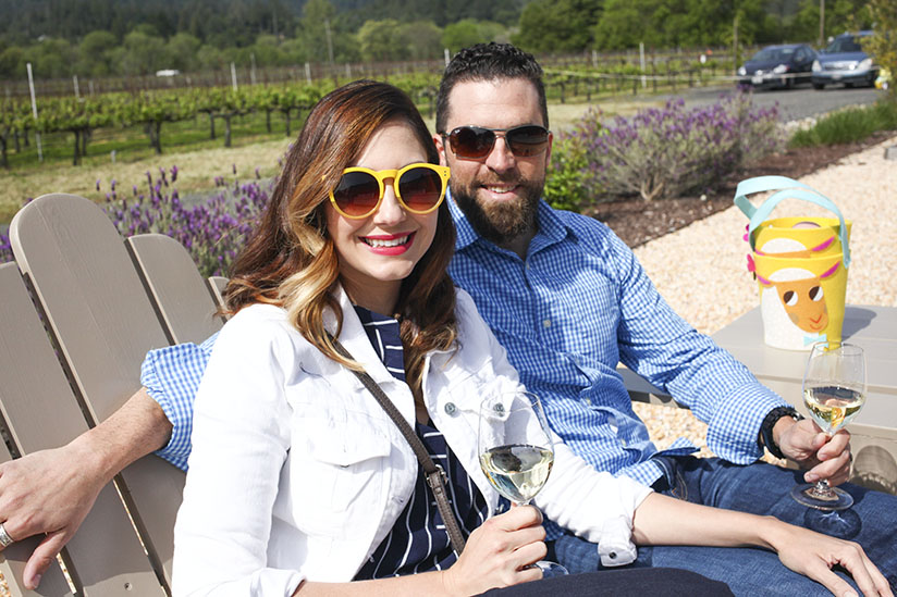 Amy and David West at Comstock Wines
